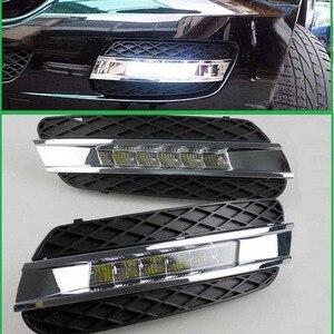 Светодиодная лампа дневного света для Mercedes Benz ML350 W164 ML280 ML300 ML320 2006-2009, аксессуары, светодиодные дневные ходовые огни DRL, 2 шт.
