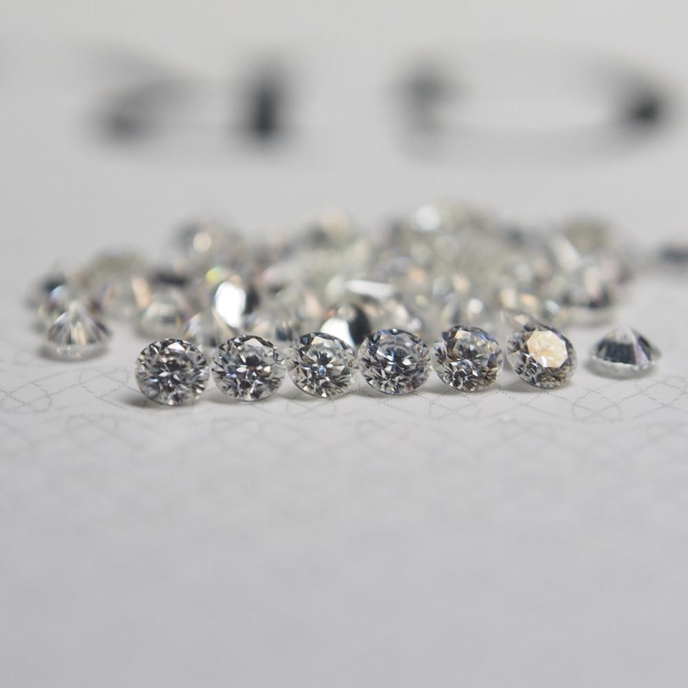 1 Carat /Bag GH color 1.00MM Moissanite Stone Loose Diamond price per carat