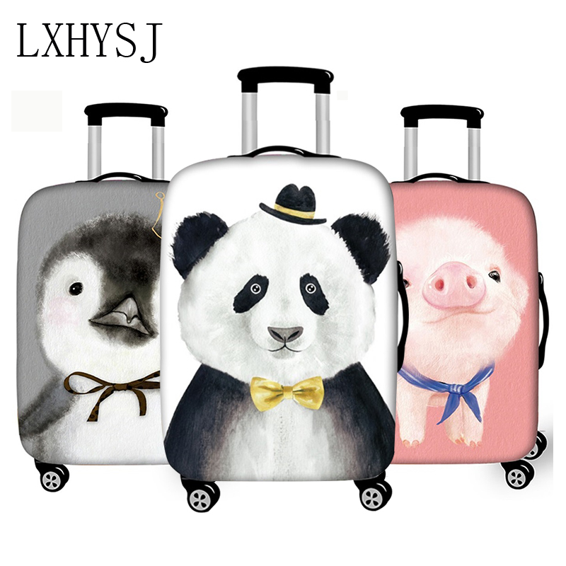 Animal Pattern Luggage Cover Thicken Travel Luggage Protective Covers Elasticity Suitcase Case 18-30 Inch Travel Accessories
