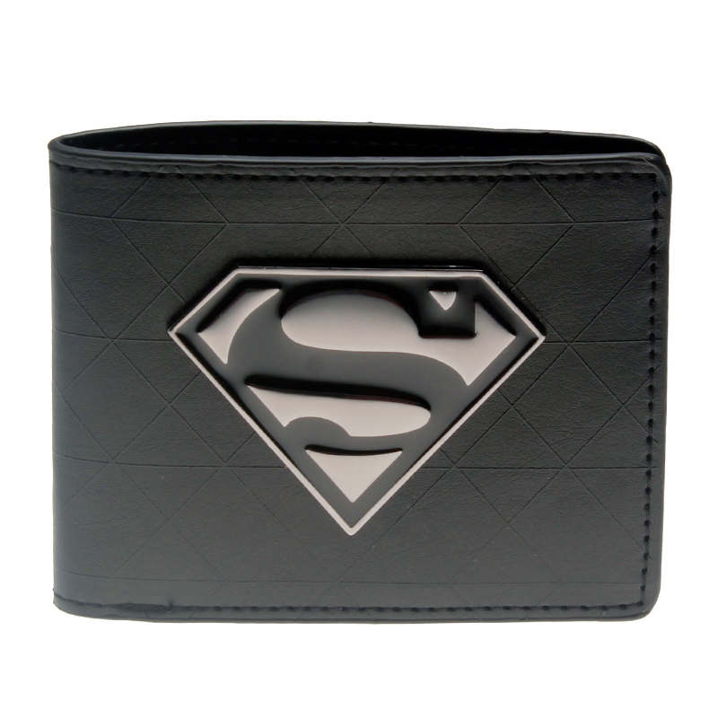 Superman's Wallet Fashionable High Quality Men's Wallets Designer New Purse Dft1328