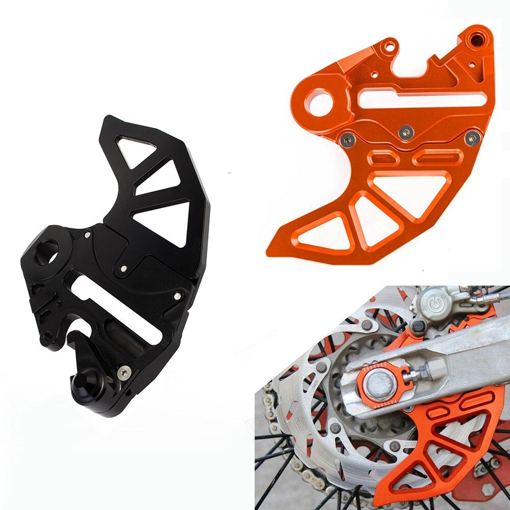 Garde de disque de frein arrière en aluminium moto CNC garde de freins arrière convient pour KTM 125-530 EXC/EXC-F/XC-W/XCF-W 2004-2015