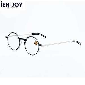 Image 2 - IENJOY Reading Glasses Blue Light Blocking Glasses TR90 Computer Readers Women Men Round Black Frames Pocket Presbyopia Reader