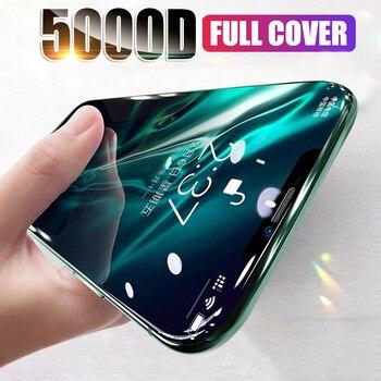 Перейти на Алиэкспресс и купить Полное покрытие из закаленного стекла для iPhone 11 Pro XS Max SE 2020 2 Защитная пленка для экрана iPhone 7 6 8 Plus X XR стекло