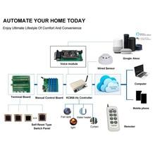 Kincony H8W WiFi anahtarı akıllı ev kiti otomasyon modülü denetleyici kontrol Domotica Hogar sistemi Alexa uyumlu Google ev