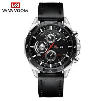 2021 New Arrival Moderno Watches Mens Sport Reloj Hombre Casual Relogio Masculino Para Military Army Leather Wrist Watch For Men - 216P-H-YH
