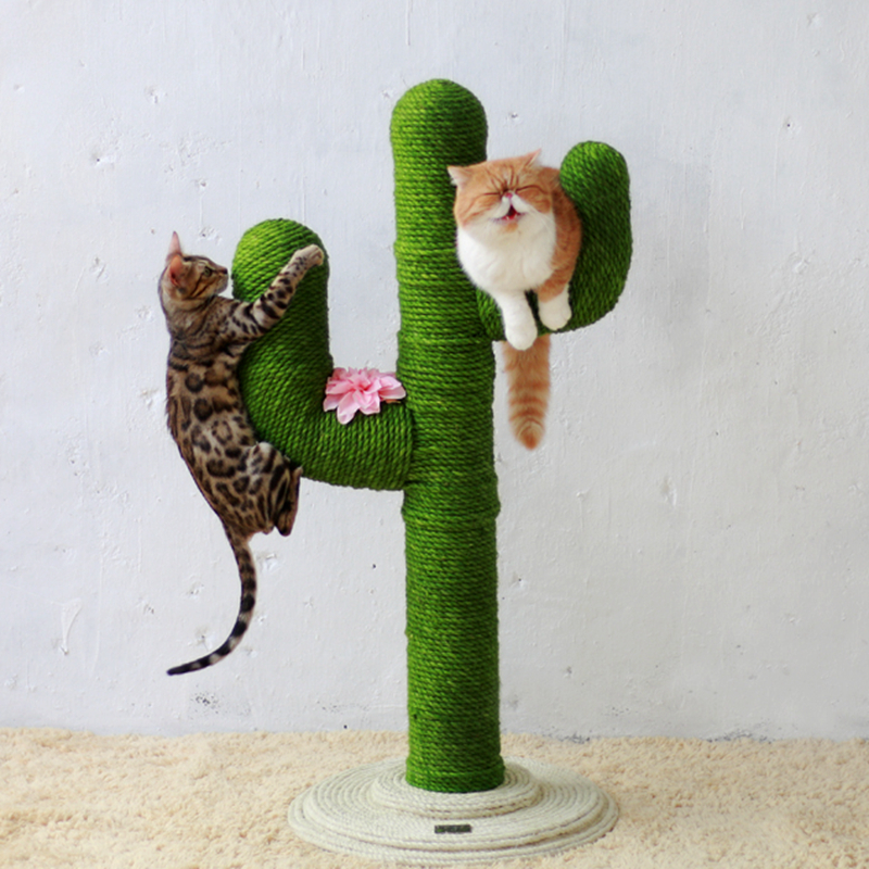 Sisal-Rope Desk-Legs Sharpen Scratching Post Climbing-Frame Cat-Tree-Cat Cats For DIY