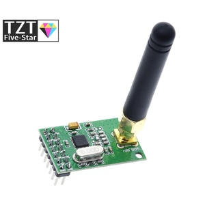 Image 2 - NRF905 Draadloze Transceiver Module Draadloze Zender Ontvanger Board NF905SE Met Antenne Fsk Gmsk Low Power 433 868 915 Mhz