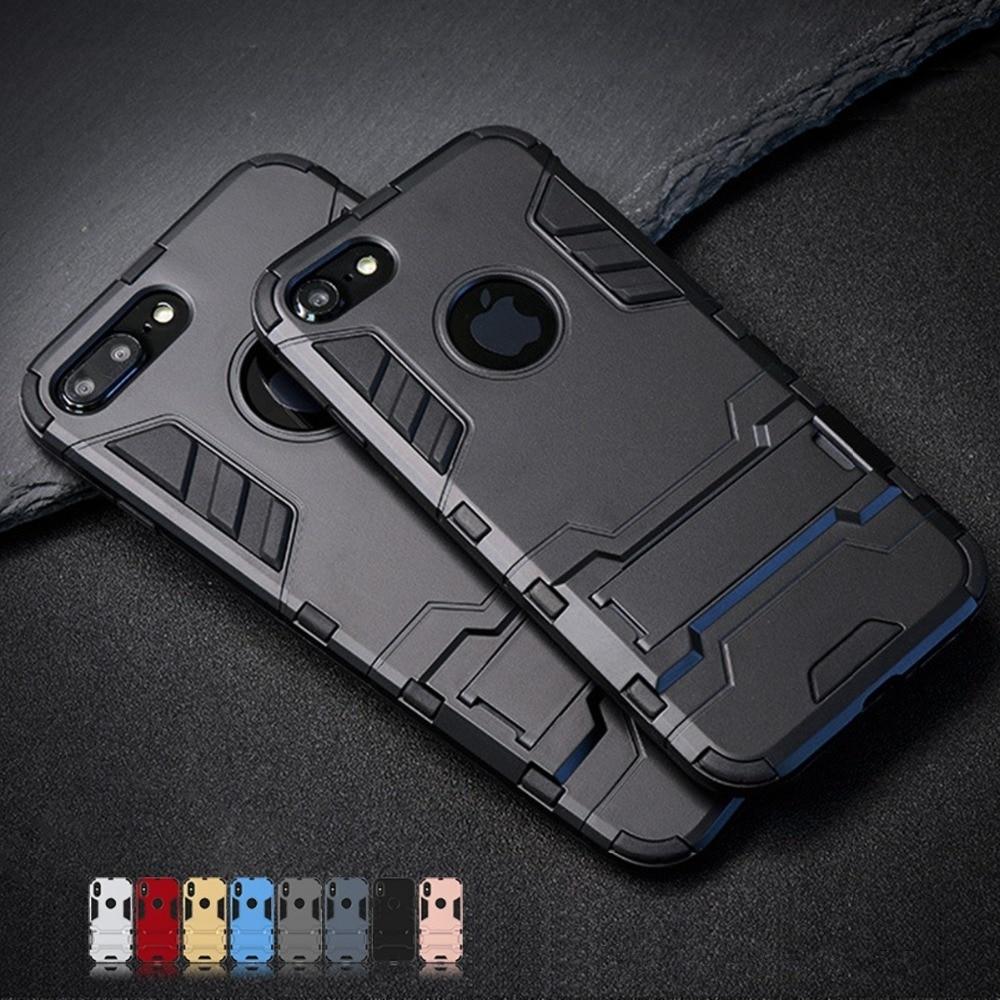 Luxury Stand Armor Phone Holder Case For iPhone 7 8 6 6S Plus X S XS Innrech Market.com