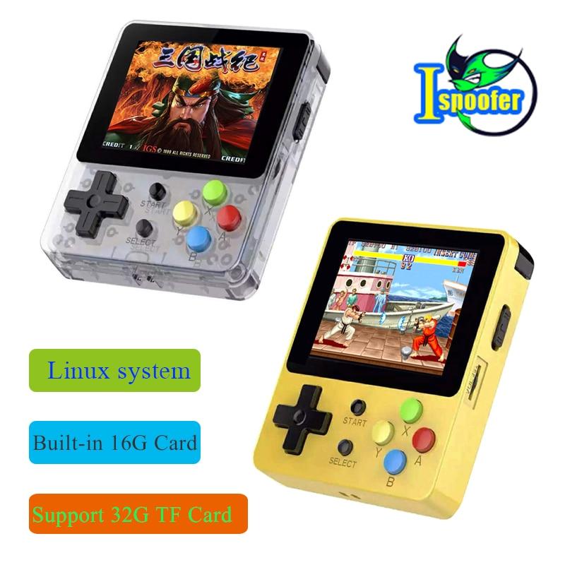 LDK game 2 6inch Screen Mini Handheld Game Console Nostalgic Children Retro game Mini Family TV Video Consoles