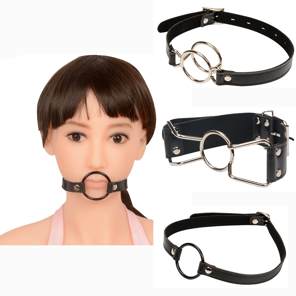 Stainless Steel Oral Fixation Open Mouth Gag Fellatio Mouth Plug Double Hook Dilator Bdsm Adult Games Slave Sex Toys For Women