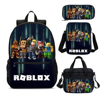 Roblox Ryggsäck Komplett 4 Delar