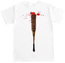Lucille Negan Twd Zombie Walking Costume Show Horror Funny Humor Mens T Shirt 2019 Summer Style Cotton Printing Shirts