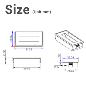 Image 5 - Pil test cihazı 12V/24V/36V/48V 8 70V LCD asit kurşun lityum pil kapasitesi göstergesi voltmetre gerilim pil test cihazı s araçları