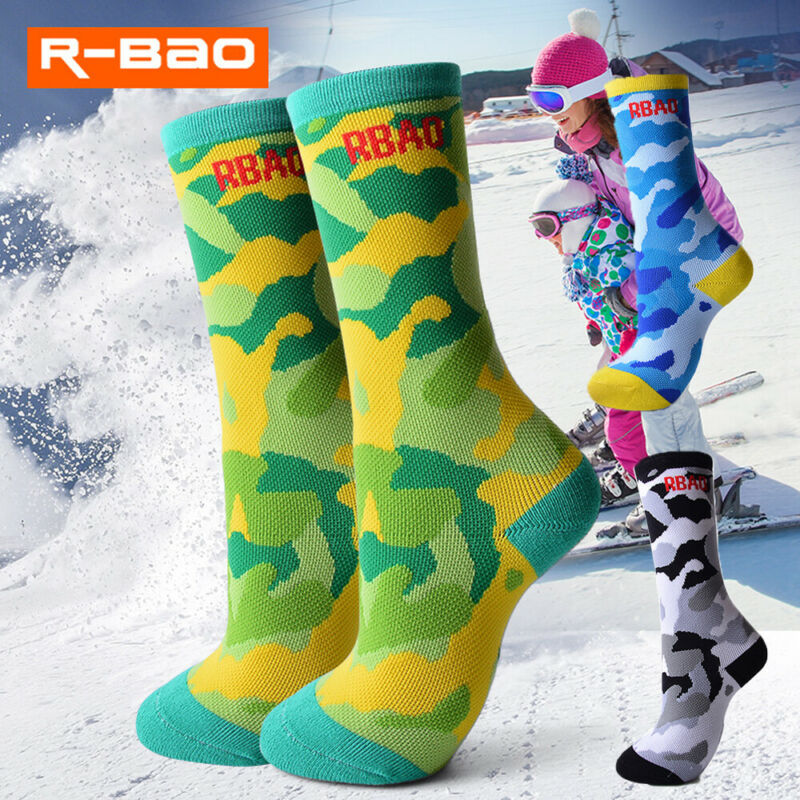 2020 Hot Ski Socks For Child Boys And Girls Thermal Winter Outdoor Sports Snowboarding And Skiing Socks Long Snow Socks Brands