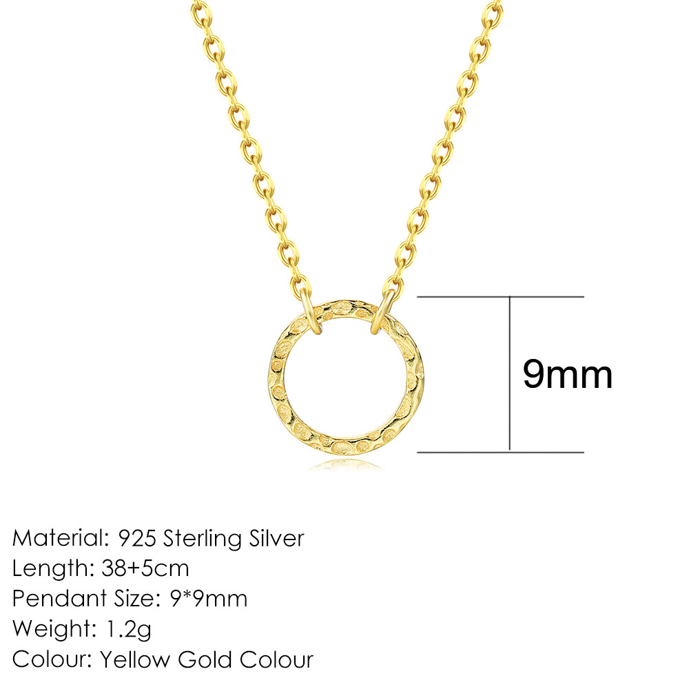 9mm-14K Gold
