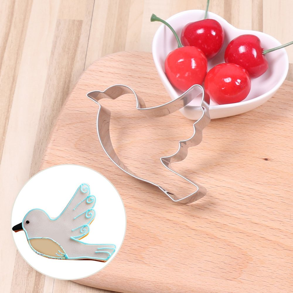 Practical Mold Pigeons Shape Cake Mould Biscuit Mold Cookie Cutter Sugar Craft Pastry Chocolate Baking Tools Kitchen Accessories
