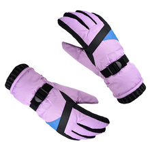 1 Pair of Winter Ski Riding Windproof Finger Touch Screen Waterproof Hands Protection Cover for Outdoor Sports Rid