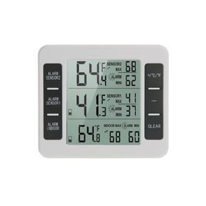 Image 5 - Home Wireless Indoor and Outdoor Thermometers Electronic Wireless Refrigerator Cold Storage Thermometer 94PC