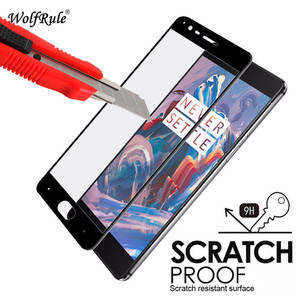 Image 3 - 2pcs For OnePlus 3T Screen Protector Glass Tempered Glass sFor Oneplus 3T 2.5D Full Coverage Anti Brust Glass Oneplus 3/3t Film