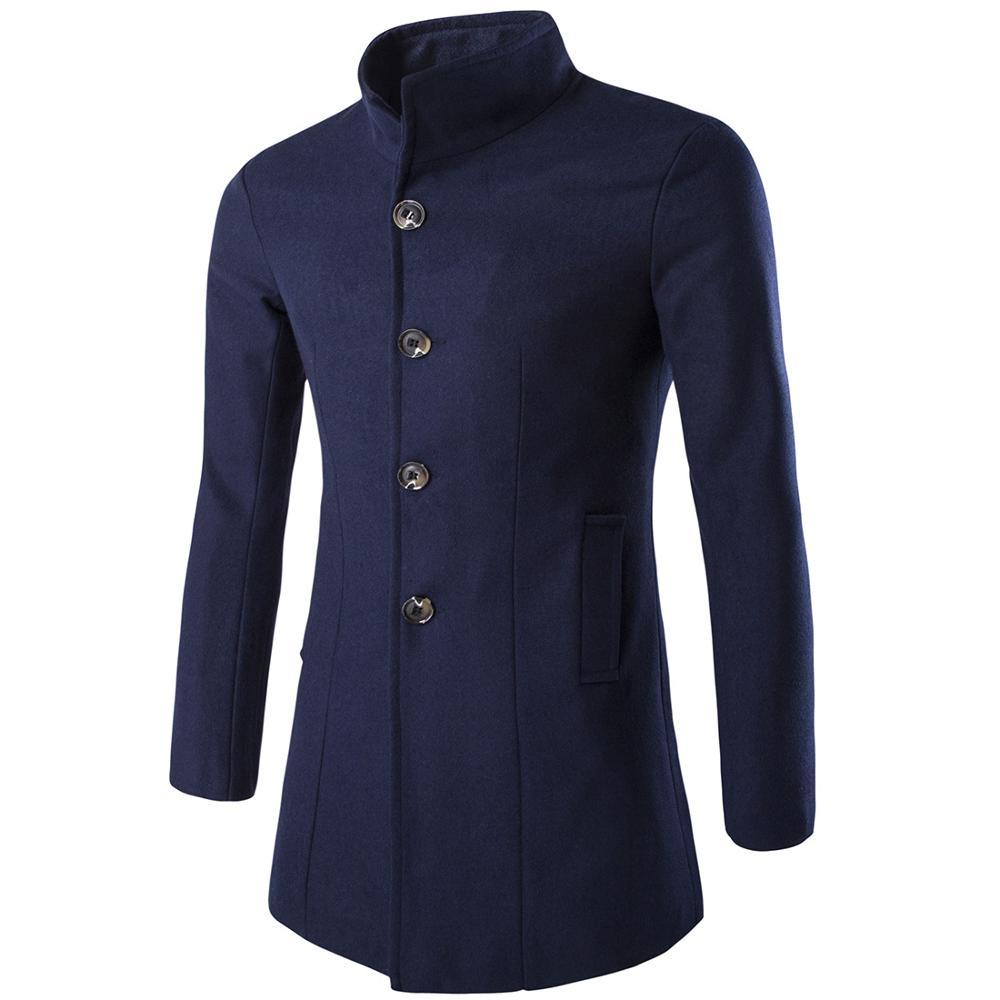 Oversize Jacket Men Jackets Winter Coat Warm Slim Jacket Thick Parka Overcoat