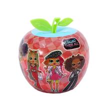 Nowy Lol niespodzianka lalka OMG jabłko piłka dziecięca plastikowa zabawka piłka pudełko z niespodzianką piłka Diy Lol lalki dla dzieci zabawki dla dziewczynek losowe kolory tanie tanio L O L SURPRISE! cartoon Dıy Toy Edukacyjne Mini Model Film i telewizja Fashion doll Interaktywny lalki 10cm Moda 3 lat