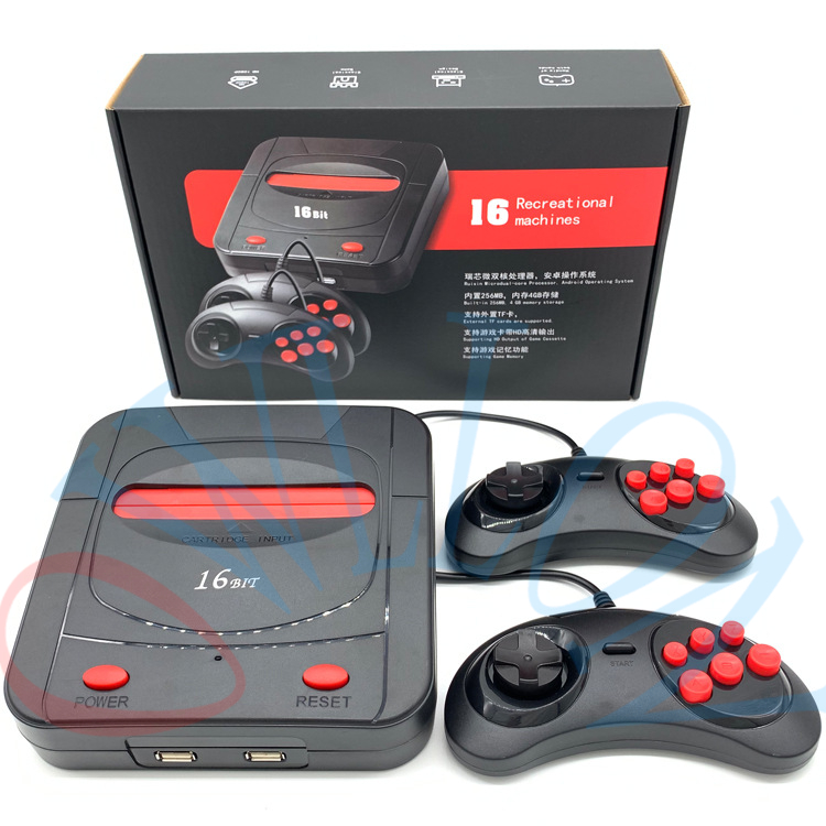 NEW Mini Classic 16 Bit Sega TV Game Console Retro Video Console Support TF Card HDMI Handheld Gaming Player Built-In 188 Games