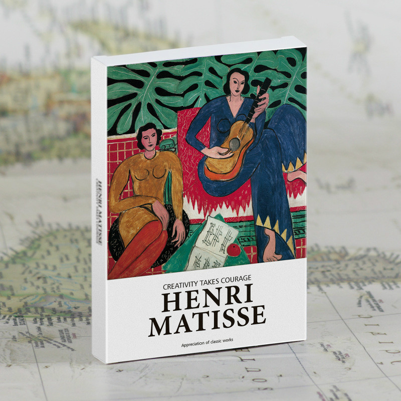 30Pcs/set Henri Matisse Postcards Art Postcards Greeting Cards Gift Cards Wall Decor