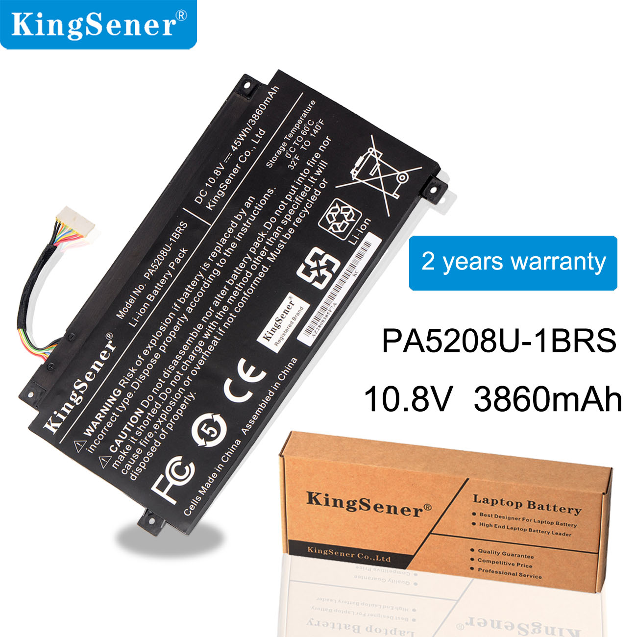 Аккумулятор KingSener PA5208U-1BRS PA5208U, для Toshiba Chromebook CB30 CB35, CB35-B3340, для Satellite E45W P55W, CB35-B3330, L55