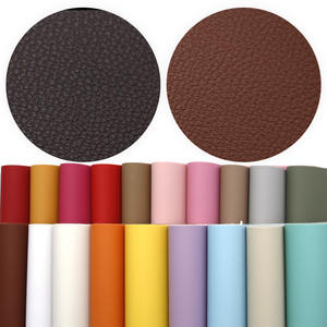 David-Accessories Faux-Leather-Sheets Synthetic-Leather Patchwork for Bows Fabric C8249