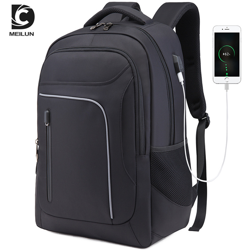 New Men Back Pack 17 Inch Laptop Backpacks WaterProof Multifunction Business Bags USB Charging Travel Backpack Large Mochila