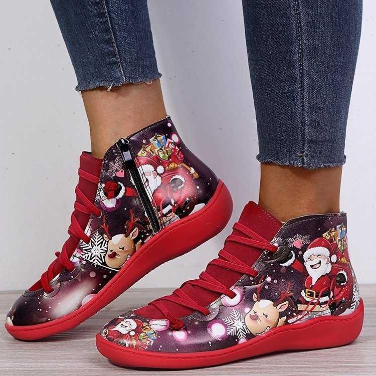 , Bayan botları ayak bileği Socofy deri Lace Up patik bayan büyük boy çapraz kayış daireler kış 2019 çizmeler sonbahar kadın ayakkabı kısa