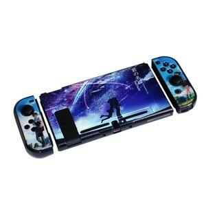 Image 2 - Przełącznik do Nintendo Anime jednoczęściowy twardy smukły futerał na konsolę Nintendo Switch NS Joy Con bezpośrednie dokowanie Protector Shell