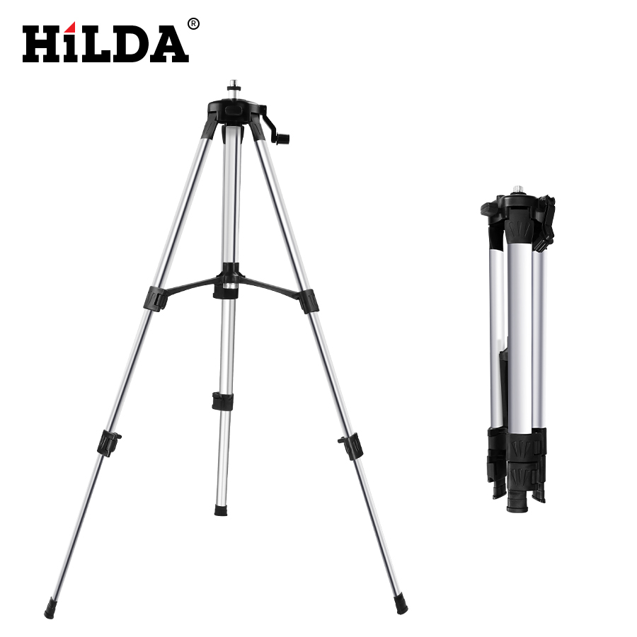 HILDA Laser Level Tripod Adjustable Height Thicken Aluminum Tripod Stand For Self Leveling