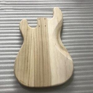 Image 4 - لم تنته هيئة الغيتار الكهربائي الخشب فارغة الغيتار برميل ل JB نمط القيثارات الكهربائية لتقوم بها بنفسك أجزاء