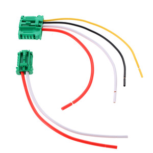 Car Blower Motor Heater Fan Resistor Connector/Wire For Citroen Peugeot Renault Nissan YPGFJCT4 YPGFJCT4 With Wire 6441.L2(China)