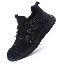 Рабочая безопасная обувь для мужчин; Удобная рабочая со стальным