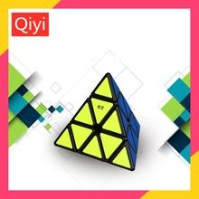 Qiyi magiczna kostka 3*3*3 Qiming piramida prędkość magiczna kostka Qiyi 3x3x3 kostka rubika Puzzle Profesjonalna kostka Rubika magia puzzle zabawki edukacyjne dla dzieci Qiyi Magic cube 3x3x3 Pyramid Speed Magic Cube tanie tanio Z tworzywa sztucznego Qiyi Pyramid 3x3x3 magic cube Qiyi Pyramid cube 5-7 lat 8-11 lat 12-15 lat Dorośli 6 lat 8 lat
