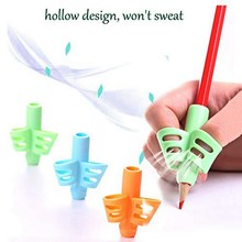 Útil crianças caneta escrita conjunto de aperto lápis apertos para crianças mão ajuda dedo postura correção ferramenta kit