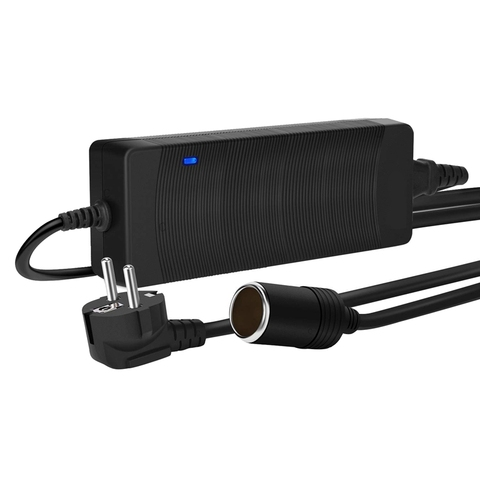 transformador de corrente ac dc v 200v a 230v a 12v cigarro lighte adaptador de
