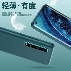 Image 4 - Original PU Leder Telefon Fall für OPPO Finden X2 Fall Ultradünne Schlank Schützende Haut OPPO Finden X2 Pro FindX2 Protector abdeckung