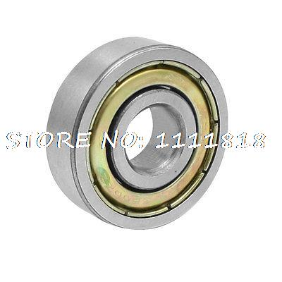 10mm X 30mm X 9mm 6200ZZ Radial Metal Shield Deep Groove Ball Bearing