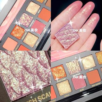 NEW Arrival Charming Eyeshadow 12 Color Palette Make up Palette Matte Shimmer Pigmented Eye Shadow Powder Free shipping цена 2017