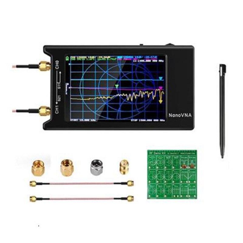 Nanovna-H4 Векторный анализатор сети с радиочастотным демо-комплектом, 10 кГц-1,5 ГГц, анализатор HF VHF UHF антенны