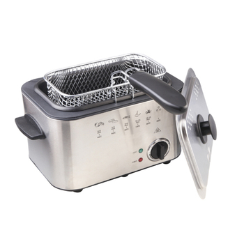Household fixed electric frying pan rectangular smokeless constant temperature electric frying furnace air frying pan new special price large capacity intelligent oil smoke free fries machine automatic electric frying pan 220v 3l