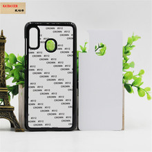 For Samsung A10/A20E/A30/A40/A50/A51/A60/A70/A71 Case TPU+PC Rubber soft 2D Sublimation Blank Heat transfer Phone Cover Case
