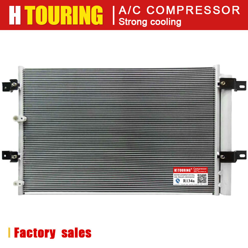 A/C AC Air Conditioning Conditioner Condenser Radiator for FORD EDGE LINCOLN MKX 3.5L V6 07-2010 7T4Z19708A 7T4Z19708B FO3030214