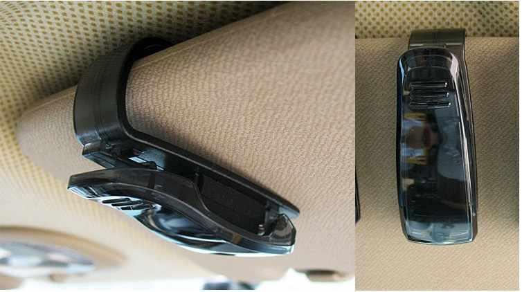 حامل قصاصة نظارات السيارة مشبك تذكرة لتويوتا كورولا افينسيس Rav4 يارس اوريس كامري بريوس هايلكس فيرسو لأكورا mdx rdx tl tsx