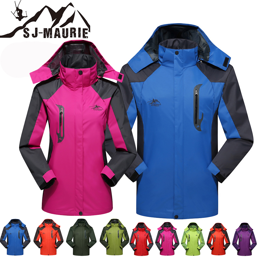 SJ-Maurie Giacca Sci Donna 10 Colors Couple Windbreaker Snowboarding Ski Suit Men And Women Sports Jacket Hiking Snowing L-4XL