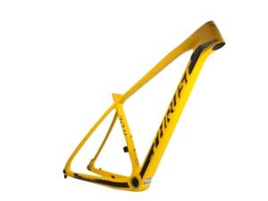 Image 5 - Новинка 2020, 29er, желтая упорная рама из углеродного волокна для велосипеда, кронштейн: BSA & BB30 & PF30 MTB, рама, велосипедные аксессуары