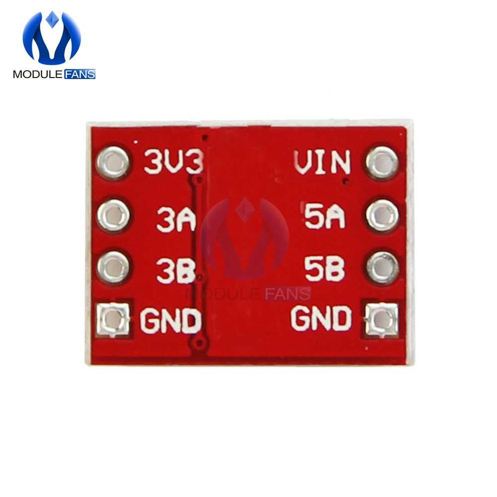 2-CH I2C IIC مستوى المنطق وحدة محول وحدة ثنائية الاتجاه لاردوينو خطوة حتى 5 فولت-3 فولت